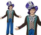 Childrens Boys Deluxe Hatter Fancy Dress Costume Kids Oufit New by Smiffys