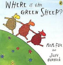 NEW. MEM FOX. WHERE IS THE GREEN SHEEP? BOARDED