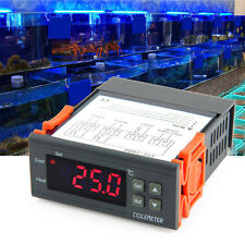 Mini Digital Temperature Controller Thermostat NTC Sensor for Aquarium Terrarium
