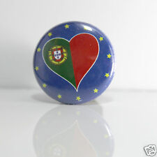 2 Badges Europe [25mm] PIN BACK BUTTON Portugal