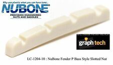 GRAPH TECH NUBONE TUSQ FENDER P BASS STYLE SLOTTED NUT LC-1204