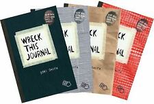 Wreck This Journal Bundle Set by Keri Smith (2012, Mixed Media)