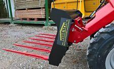 Mistgabel, Anbaugerät für Hoflader Hoffux Avant Multione Norcar Cast Pixy uvm.