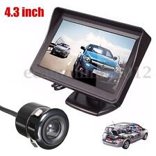 "4.3"" HD 1080p in-car Specchietto Retrovisore Dash DVR Registratore Monitor Kit"