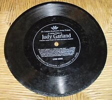 THE IMMORTAL JUDY GARLAND LONGINES SYMPHONETTE SOCIETY FLEXIBLE RECORD