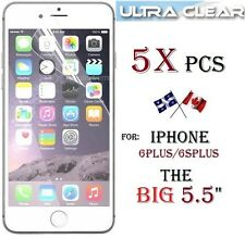 "5X ULTRA clear screen protector Apple iphone 6PLUS 5.5"" 6 plus 6S+ Transparent"