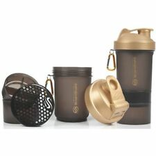 SMART-SHAKE Protein Shaker Bottle Mixer Shaker Cup SmartShake 600ml Gold Editio