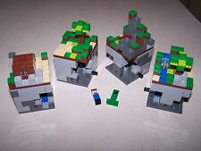 Lego 21102 The Forest Minecraft Micro World 100% Complete