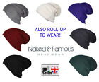Slouch Oversized Baggy Winter Beanie-Hat 7 colors Mens/Ladies uk stock