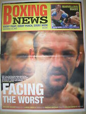 BOXING NEWS 28 NOVEMBER 2003 SCOTT HARRISON v MANUEL MEDINA FIGHT PREVIEW
