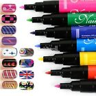 12 colors/12 PCs/LOT Nail Art Pen Painting Design Tool Drawing for UV Gel Polish