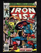 "Iron Fist #12 ~ Marvel w/ Cap America ""The Shield and the Power (6.0) WH"