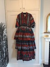 Kenzo X H&M Folk Dress Size Small Rare Christmas New Years Party Designer