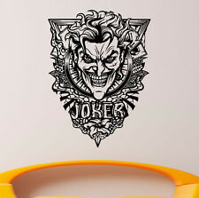 Joker Wall Vinyl Decals Super Hero Sticker DC Comics Art Removable Decor (1jbat)