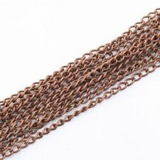 Lots 5/10M Utility Plated Cable Open Link Iron Metal Chain Jewelry Finding 6x4mm