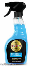 Simoniz Anti Glare Glass Window Car Windscreen Cleaner High Visibility 500ml