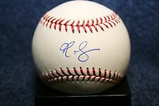RA R.A. DICKEY AUTOGRAPHED SIGNED BASEBALL OML NEW YORK METS TORONTO BLUE JAYS