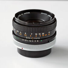 Canon FD 50mm f/1.8 S.C for Canon Manual Focus Cameras *Clean*