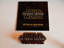 Pin Spilla Star Wars Force Awakens Risveglio Forza Film Guerre Stellari Disney
