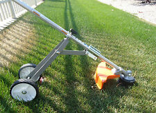 Heavy Duty Support Wheel Dolly Attachment Weedeaters, Trimmers 3/4 Shaft