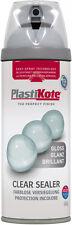 Plasti-kote - Premium Gloss Clear Sealer - 400ml - Spray Paint - Clear Acrylic