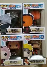 In-Hand New Funko POP! Animation Naruto Shippuden set of 4 Vinyl Figure