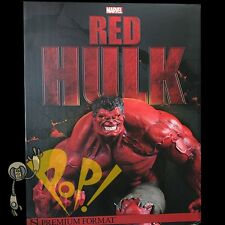 Marvel RED HULK Premium Format Figure #8/1000 Low Number SIDESHOW New In BOX!
