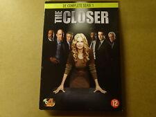 4-DISC DVD BOX / THE CLOSER - SEIZOEN 1