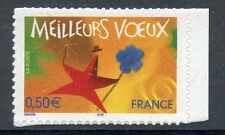 STAMP / TIMBRE FRANCE NEUF N° 3724 ** MEILLEURS VOEUX / ISSUS DE CARNET