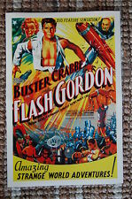 Flash Gordon Lobby Card Movie Poster Buster Crabbe