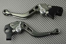 Short levers pair CNC titanium KTM DUKE 125 200 390 SANS ABS 2012 - 2016