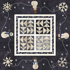 SNOWMAN GATHERINGS II QUILT KIT Moda Fabric by Primitive Gatherings Incl Backing