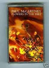 CASSETTE TAPE NEW PAUL McCARTNEY FLOWERS IN THE DIRT