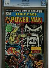 POWER MAN LUKE CAGE #19 CGC 9.6 COTTONMOUTH 1974 GIL KANE JOHN ROMITA COVER OWTW
