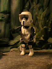 PLAYMOBIL CUSTOM  SCOUT TROOPER (STAR WARS V) REF-043 BIS