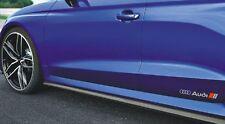 2x Audi S-line Aufkleber seitlich Performance Logo A1 A2 A3 A4 A5 A6 A7 A8 Q3 Q5