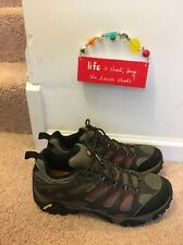 MERRELL MOAB GORE-TEX ACR/DARK CHOCOLATE GREAT SOLES URBAN SZ 11/45 HIKING/EVERY