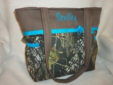 Mossy Oak Hunting real tree max 4 duck blind camo duffle diaper bag girls boys