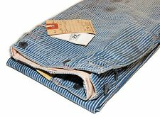 Ralph Lauren Double RL RRL Mens Naval Railroad Vintage Stripe Jean Pants 28/34