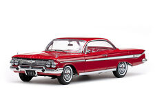 Sun Star Chevrolet Impala Sport Coupe Roman Red 1961 1/18