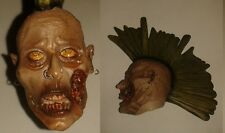 """Zombie Head for 1/6 scale 12"""" Action Figure Man. The Dead. Sideshow. Walking."""