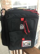 Porta Brace BK-1NR Camera Backpack (Black with Red String) NEW Case/bag