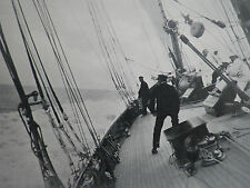 Yacht Germania Pampiro Yachting Cowes Week 1913 2 Page Photo Article 8277