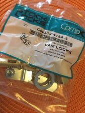 STOCK LOCKS SURFACE DRAWER LOCK C8703-C415A-4G ANTIQUE BRASS NEW IN PACKAGE