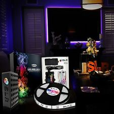 LED Home Theater Accent Lighting Kit Color Changing Behind TV Light Strip Glow