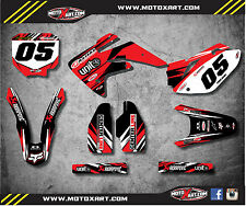 HONDA CRF 150 R - 2007 / 2016 Full Custom Graphic Kit - DIGGER STYLE - decals