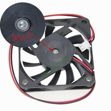 2pcs 60mm 60x60x10mm Ball Bearing Brushless PC Computer Cooler Fan DC 12V 2Pin