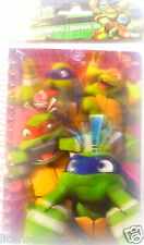 TEENAGE MUTANT NINJA TURTLES! NICKELODEON BLANK JOURNAL 50 PAGES! LENTICULAR! 3D