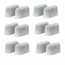 PureGreen Replacement Charcoal Water Filter f/ Cuisinart Coffee Machines 12 Pack
