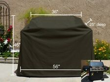"Outdoor BBQ Grill Cover Fit Char Broil RED INFRARED URBAN GRILL, 56"", Black"